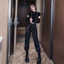 Fashion suit Spring 2021 S M L cotton New polyester fiber 95% polyurethane elastic fiber (spandex) 5% Pure e-commerce (online only)