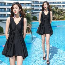 Bikini Fly high black M,L,XL,XXL Steel strap breast pad other A6613