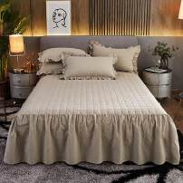 Bed skirt 150x200cm bed skirt, 180x200cm bed skirt, 180x220cm bed skirt, 200x220cm bed skirt, 150cmx200cm bed skirt + pillow case, 180cmx200cm bed skirt + pillow case, 180cmx220cm bed skirt + pillow case, 200x220cm bed skirt + pillow case cotton Other / other Solid color Qualified products huanhuan01