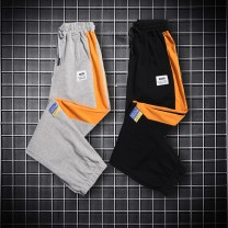 trousers Ou Yangfeng male summer Ninth pants leisure time No model Overalls middle-waisted Tether cotton Don't open the crotch Cotton 98.00% polyurethane elastic fiber (spandex) 2.00% OYF20B-LT0174 Class B Summer 2021 12, 11, 3, 7, 8, 4, 5, 9, 10, 6 Chinese Mainland No plush Zhejiang Province