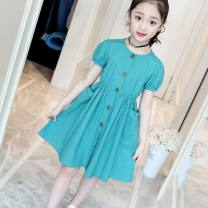 Dress female Other / other Other 100% Solid color other A-line skirt Three months, 12 months