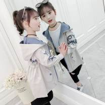 Windbreaker Autumn waistline windbreaker pink, autumn waistline windbreaker ivory white It is suggested to take a bigger size when 48 is smaller, 100cm for 110, 110cm for 120, 120cm for 130, 130cm for 140, 140cm for 150 and 150cm for 160 Other / other female