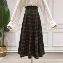 skirt Spring 2020 S,M,L,XL Red check, green check, black and white check Mid length dress commute High waist Umbrella skirt lattice Type A 18-24 years old NSL16001916 71% (inclusive) - 80% (inclusive) other Other / other other Korean version