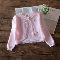 Sweater / sweater 100cm,110cm,80cm,90cm,120cm,66cm,73cm,130cm cotton female Other / other No model A button Thin money Crew neck nothing Ordinary wool other Class B Three months, six months, 12 months