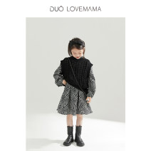 Sweater / sweater 90cm 100cm 110cm 120cm 130cm Cotton polyester neutral White spot white [Second Batch] April 2-april 8 black spot black [Second Batch] April 2-april 8 white [Third Batch] April 15-20 black [Third Batch] April 15-20 DUOLOVEMAMA leisure time There are models in the real shooting Socket