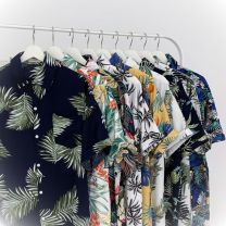 shirt Youth fashion Others M 95 - 115 kg to wear , L 110 - 130 catties to wear , XL 125 - 145 Jin for wearing , 2XL 140 - 160 catties to wear , 3XL 155 - 180 catties to wear , 4XL 180 - 205 kg to wear , 5XL 205 - 230 kg to wear routine Pointed collar (regular) Short sleeve easy Other leisure summer