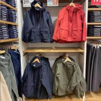 short coat Spring 2021 S,M,L,XL Navy , black , Coral red , orange , Light beige , Olive Long sleeves routine routine singleton  commute routine Hood zipper Solid color 81% (inclusive) - 90% (inclusive) pocket other