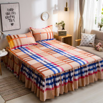 Bed skirt 120x200cm, 150x200cm, 200x220cm, 180x220cm and 180x200cm cotton Other / other Plants and flowers Qualified products sheet