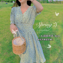 Parent child fashion Mother and son Female, neutral luson 80, 90, 100, 110, 120, 130, 140, s, m, l MFX1830 summer leisure time routine Broken flowers skirt other MFX1830 12 months, 18 months, 2 years old, 3 years old, 4 years old, 5 years old, 6 years old, 7 years old
