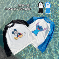 Bathing suit 80, 90, 100, 110, 120, 130, 140 Other 100% Classic black, sky blue, classic black expected to warehouse, sky blue expected to warehouse Other / other female LMZX1112 12 months, 18 months, 2 years old, 3 years old, 4 years old, 5 years old, 6 years old, 7 years old