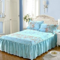Bed skirt Quilt cover 180 * 220cm, quilt cover 150 * 200cm, a pair of pillowcases, bed skirt 200x220cm, bed skirt 120x200cm, quilt cover 200 * 230cm, bed skirt 180x200cm, bed skirt 150x200cm, bed skirt 180x220cm Others Other / other Plants and flowers First Grade