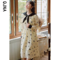 Dress Winter 2020 Picture color S M L XL Mid length dress singleton  Long sleeves commute other High waist Decor Socket A-line skirt shirt sleeve Others 18-24 years old Type A Qingjiaona Korean version More than 95% other Other 100% Pure e-commerce (online only)