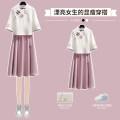 Hanfu 31% (inclusive) - 50% (inclusive) Summer 2021 Purple suit pink suit light blue suit M L XL XXL XXXL wool