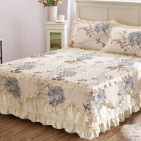 Bed skirt 150x200 single bed skirt, 180x200 single bed skirt, 180x220 single bed skirt, 200x220 single bed skirt, 200x230 quilt cover, 220x240 quilt cover, 120x200 single bed skirt cotton Other / other Plants and flowers Qualified products dst483