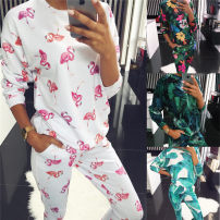 Casual suit Spring of 2019 S,XL,L,M 18-25 years old Other / other 31% (inclusive) - 50% (inclusive) cotton