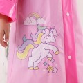 Poncho / raincoat Plastic Pink [Unicorn], pink [surprise doll] S,M,L,XL children 1 person routine Other / other Cartoon