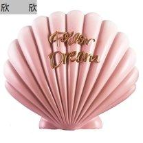 Ornaments shell synthetic resin Jian Mei Jm8022 Pink Tabletop ornaments bedroom Other Ornaments Semi manual