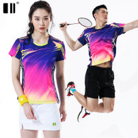 Badminton wear female S,M,L,XL,XXL,XXXL Odd and even numbers Football suit