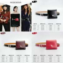 Belt / belt / chain Double skin leather Black, brown, red female belt Versatile Single loop Youth, youth, middle age Pin buckle Glossy surface Glossy surface 2.2cm alloy Naked, candy, elastic Other / other 90cm,95cm,100cm,105cm