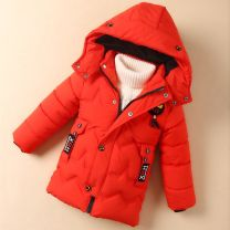 Cotton padded jacket male No detachable cap other Other / other Black, orange, dark green The recommended height is 90-100cm for 110, 100-110cm for 120, 110-120cm for 130, 120-130cm for 140, 130-140cm for 150 and 140-150cm for 160 3 months