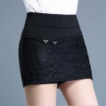 Casual pants black 20 (M waist 2 feet), 21 (L waist 2 feet 1), 22 (XL waist 2 feet 2), 23 (2XL waist 2 feet 3), 24 (3XL waist 2 feet 4), 25 (4XL waist 2 feet 5), 26 (5XL waist 2 feet 6), 27 (6xl waist 2 feet 7) Autumn of 2019 High waist commute routine Korean version