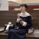 Fashion suit Winter 2020 S,M,L Navy (coat), Navy (skirt) 18-25 years old EVENOLDER JXQ2010002 71% (inclusive) - 80% (inclusive) polyester fiber