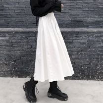 Pet clothing / raincoat currency other S,M,L,XL Other / other other Black, white, type A / Japanese / half skirt / retro / strap / Hepburn style, slim / Versatile / fashion / over knee / temperament / buttocks / slim / swing / Skirt / dream / Mink / half cut/ db20198435747
