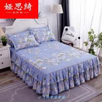 Bed skirt cotton Other / other Plants and flowers First Grade 158211723271166