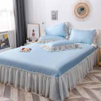 Mat / bamboo mat / rattan mat / straw mat / cowhide mat Mat Kit Others Other / other 1.2m (4 ft) bed, 1.5m (5 ft) bed, 1.8m (6 ft) bed, 2.0m (6.6 ft) bed Sapphire blue, passion lemon, agate grey, green lotus purple, sky blue and fairy powder are all available Folding Qualified products