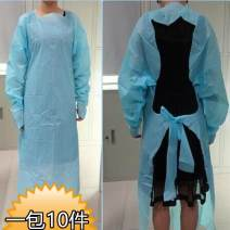 apron Thumb robe 10 in a pack, rubber band mouth 10 in a pack, thumb robe 25 in a pack, rubber band mouth 25 in a pack Sleeve apron antifouling Simplicity other Personal washing / cleaning / care XL Thickened CPE reverse dressing public