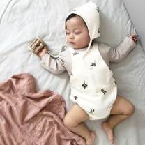 Jumpsuit / climbing suit / Khaki Other / other Class A neutral 66cm,73cm,80cm,90cm cotton spring and autumn Long sleeves Trigonometry leisure time There are models in the real shooting nothing Socket SP-19 SP-19