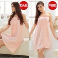 Bath skirt / bathrobe / bathrobe D13467 female Deduction, pullover Other / other