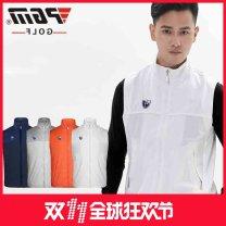 Golf apparel White, dark gray, orange, dark blue S,M,L,XL,XXL male Other / other Vest YF017