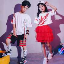 Children's performance clothes male Other / other Class B practice Cotton 95% polyurethane elastic fiber (spandex) 5% polyester 7, 8, 14, 3, 6, 13, 11, 5, 4, 10, 9, 12 Korean version