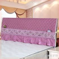 Bedside cover Solid color fabric art Fabric soft bag Other / other 1.2M1.5M1.8M2M Simple and modern