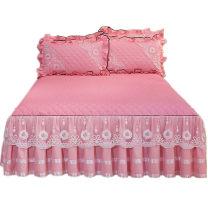 Bed skirt 150cmx200cm single bed skirt, 180cmx200cm single bed skirt, 180cmx220cm single bed skirt, 200cmx220cm single bed skirt, 150cmx200cm bed skirt + pillow case 2, 180cmx200cm bed skirt + pillow case 2, 180cmx220cm bed skirt + pillow case 2, 200cmx220cm bed skirt + pillow case 2 Others