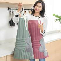 apron Red, green, coffee Sleeveless apron waterproof Japanese  Household cleaning Average size TX tingxue-0047 enclosure Other / other the post-90s generation no like a breath of fresh air