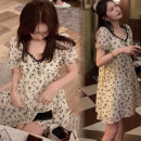 Dress Other / other Picture color M,L,XL,XXL Korean version Short sleeve routine summer Decor 752#