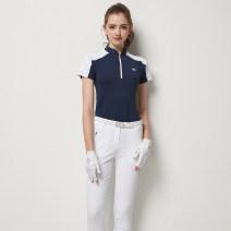 Golf apparel Royal blue jacket, white jacket, royal blue jacket + white pants, white jacket + royal blue pants, pants S,M,L,XL,XXL female BLK TEE