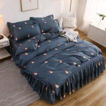 Bedding Set / four piece set / multi piece set cotton Quilting Plants and flowers 133x72 Other / other cotton 4 pieces 60 Bedspread type 100% cotton LHk01HUu
