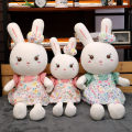 Plush cloth toys 4, 5, 6, 7, 8, 9, 10, 11, 12, 13, 14, 14 and above Other / other Plush Doll Down cotton Rabbit rabbit domestic CX-TYHTZGZ other nothing