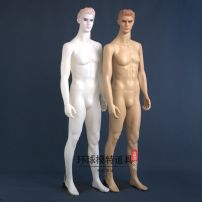 Fashion model Plastic male full body model white, plastic male full body model skin color Zhejiang Province Model star Plastic Thin shell structure Simple and modern Plastic male full body model character Disassembly Official standard other