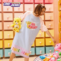 Plush cloth toys 2 years old, 3 years old, 4 years old, 5 years old, 6 years old, 7 years old, 8 years old, 9 years old, 10 years old, 11 years old, 12 years old, 13 years old, 14 years old and above CAREBEARS other Bear Genuine 984115135 female Chinese Mainland Shanghai Shanghai Sky blue pink S M L