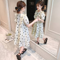 Outdoor casual clothes Tagkita / she and others female one hundred and nine point eight zero Off white [polka dot dress] , Collection Plus purchase priority delivery 51-100 yuan 120,130,140,150,160,170 other Short sleeve summer have more cash than can be accounted for