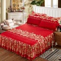 Bed skirt 120x200cm, 150x200cm, 180x200cm, 200x220cm and 180x220cm Others Other / other Plants and flowers First Grade
