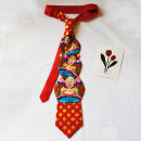 necktie 01 three boys slightly defective Arrow tie Common type (7cm-12cm) Gift box other silk Korean version printing blending 10cm