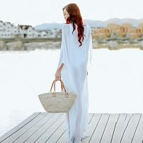 Beach coat white Average size Other / other ZS1066