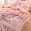 Bedding Set / four piece set / multi piece set Polypropylene fiber other Puzzle 200x95 Other / other Polypropylene fiber 4 pieces 100 Bed skirt Princess style Sanding