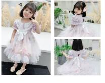 Dress Picture color female Other / other 90cm,100cm,110cm,120cm,130cm,140cm,150cm Polyester 100% winter Europe and America Short sleeve Cartoon animation polyester Cake skirt Class A 12 months, 18 months, 2 years old, 3 years old, 4 years old, 5 years old, 6 years old, 7 years old, 8 years old