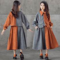 Combat trousers Tagkita / she and others children Orange gray, collection plus purchase priority delivery 160,165,120,130,140,150 51-100 yuan two hundred and nineteen point six eight